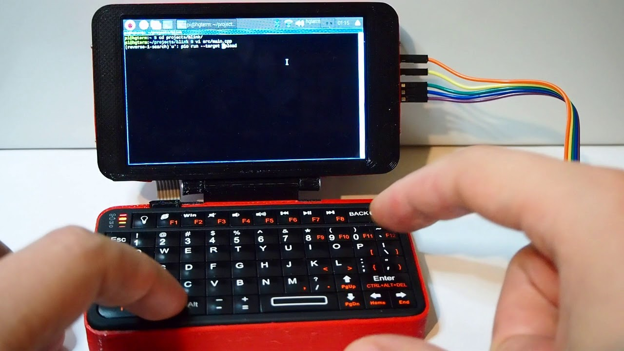 Raspberry Pi based Hyper Keyboard Pi & hgTerm Handheld PCs