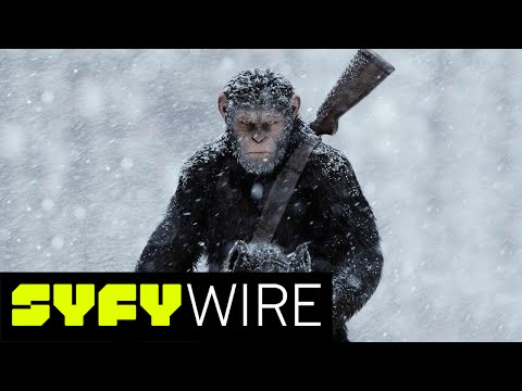 War for the Planet of the Apes Red Carpet Premiere | SYFY WIRE