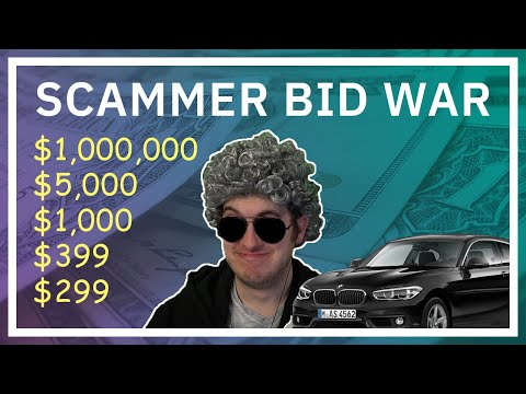 These Scammers Start A Bidding War Over Granny