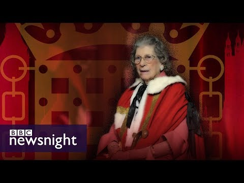 Baroness Trumpington on retiring from the House of Lords - BBC Newsnight