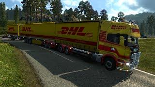 Euro Truck Simulator 2. Мод: Scania Gigaliner. Жесть! (Ссылка в описании)