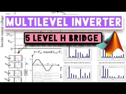 5-Level Cascaded H - Bridge, Multilevel Inverter MATLAB
