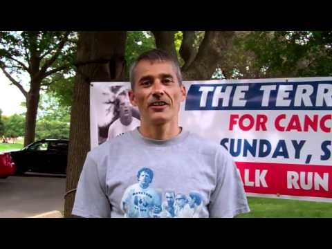 Rick Ball, amputee runner, invites you to The Terry Fox Run! 2