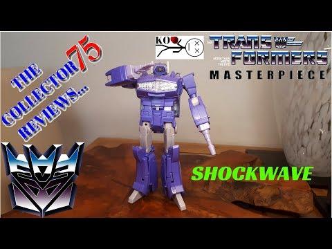 Transformers K.O. Masterpiece SHOCKWAVE Review