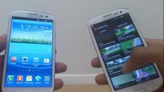 S BEAM Hands On Demo on Samsung Galaxy S3 (SIII, i9300)