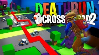 Traverse ou meurt... Deathrun avec la Team Croûton sur Fortnite créatif !