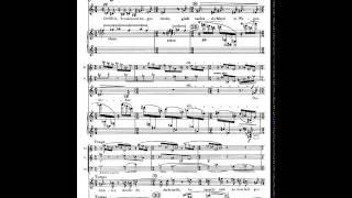 Schoenberg Pierrot Lunaire Op. 21. 1. Mondestrunken. Partitura. Interpretación.