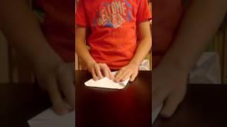 Как сделать совы из бумаги(оригами).