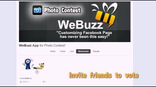 WeBuzz Photo Contest App