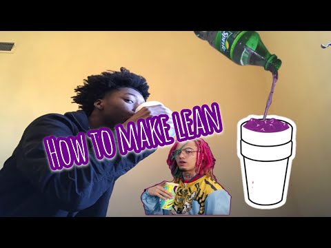 "HOW TO MAKE "" LIL PUMP "" LEAN"
