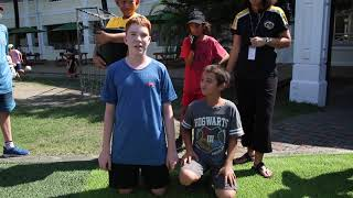 ISY Elementary School Students taking part in the Ice Bucket Challenge