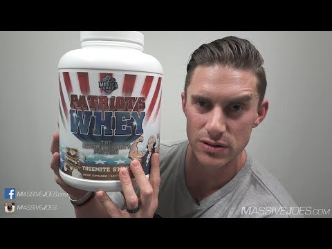 'Merica Labz Patriot's Whey Protein Powder Supplement Review - MassiveJoes.com Raw Review