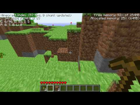 Lets Play Minecraft Indev Episode 1 The Beginning YouTube
