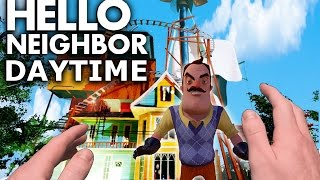 Realistic Minecraft: Hello Neighbor - Alpha 3 house in the DAYTIME!