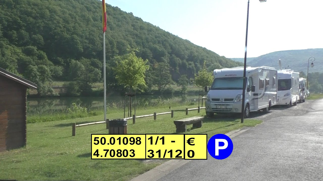 haybes ardennes d8051 aire de camping car youtube. Black Bedroom Furniture Sets. Home Design Ideas