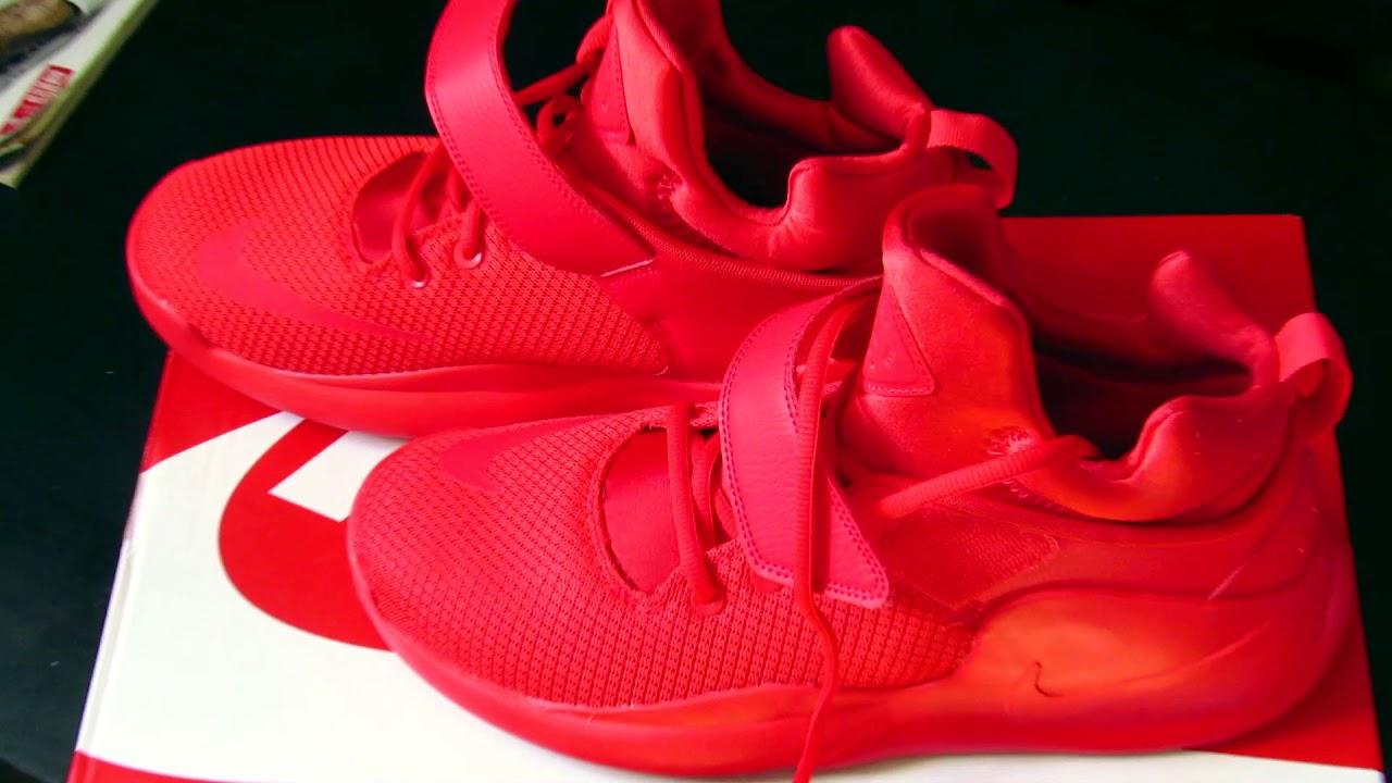 half off ed175 8f404 UNBOXING   Nike Kwazi red on feet