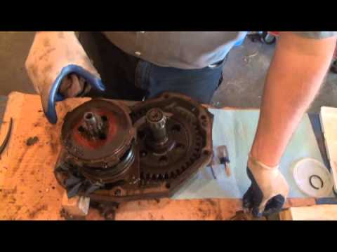 Part 7 - Disassemble PTO Clutch Pack - YouTube