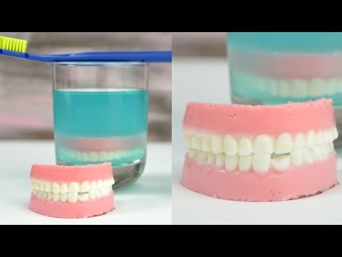 WOULD YOU EAT THIS? APRIL FOOLS' FOOD PRANK, DENTURE IN THE GLASS, HANIELA'S