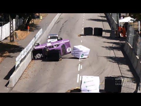 Historisk Motor Sport Danmark (86) 2018. QR Copenhagen Historic Grand Prix. Crash Rolls Red Flag