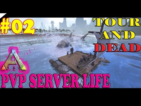 💀TOUR KEMATIAN PVP SERVER LIFE | ARK: S.E INDONESiA