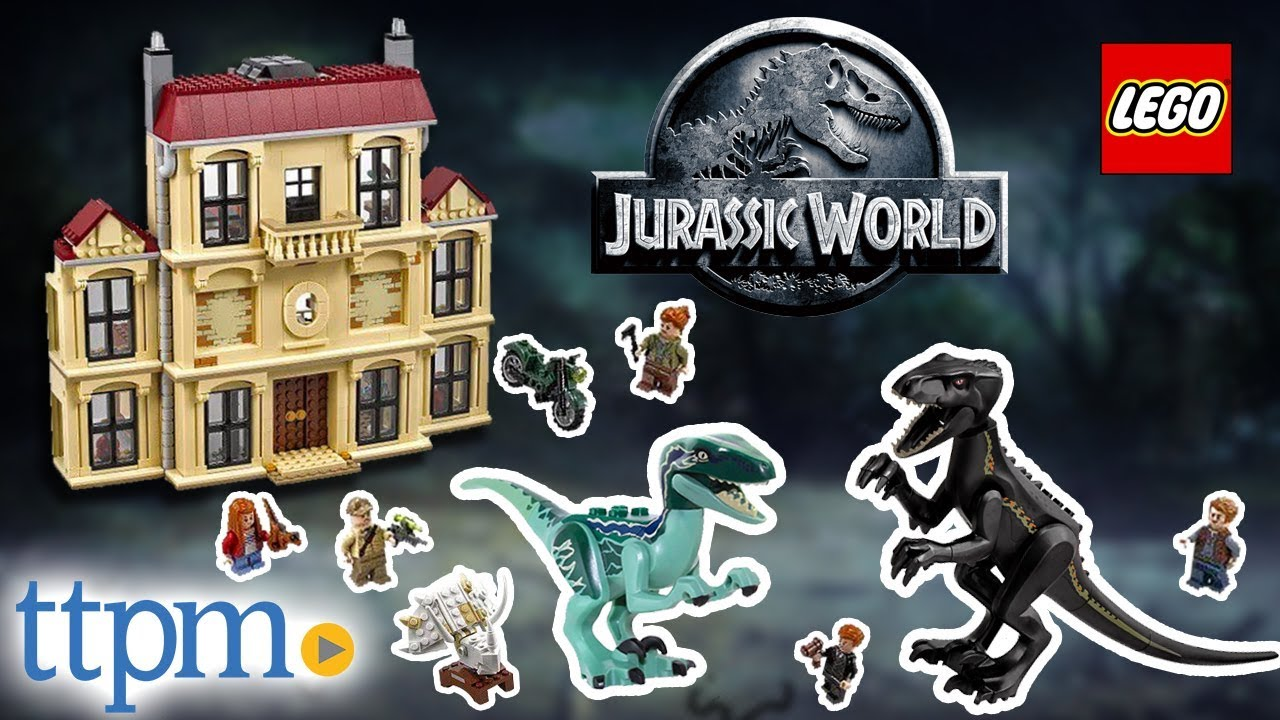 LEGO Jurassic World Gunnar Eversol from 75930 Indoraptor rampage Lockwood Estate