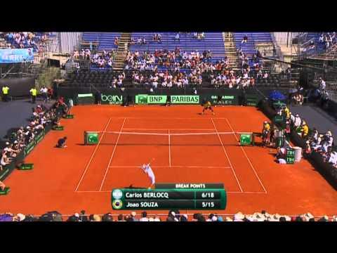 Highlights - Carlos Berlocq (ARG) v Joao Souza (BRA)