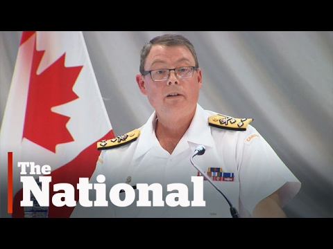 RCMP Commissioner silent on vice-admiral's removal
