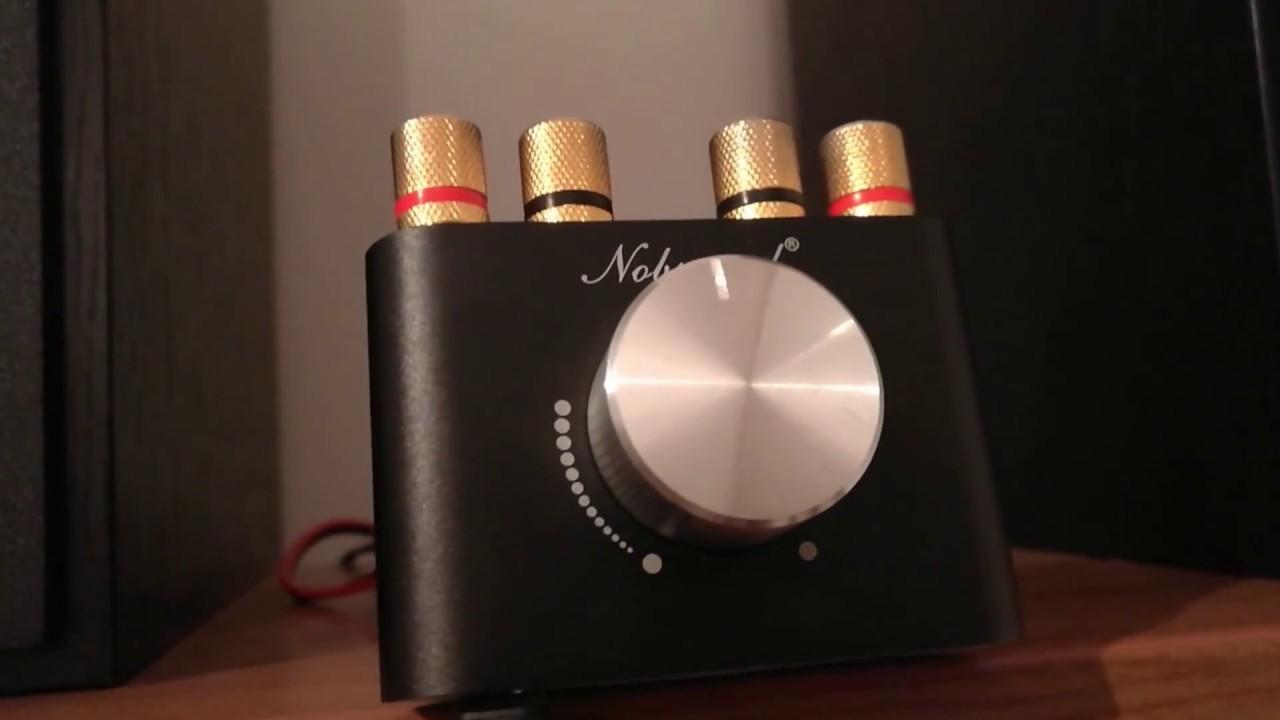 Nobsound Amplifier Test On Eltax Bookshelf Speakers Very Clear Sound