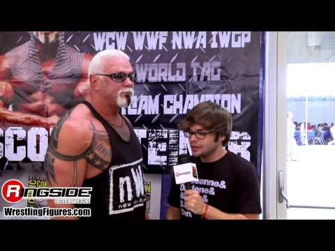 BIG POPPA PUMP, SCOTT STEINER SDCC 2014 Mattel WWE Figure Interview wrestling figures