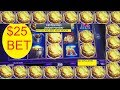 JACKPOT on EUREKA BLAST SLOT MACHINE! $25 BET!
