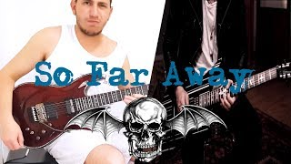 Avenged Sevenfold - So Far Away Guitar Solo Cover feat. Sustainiac