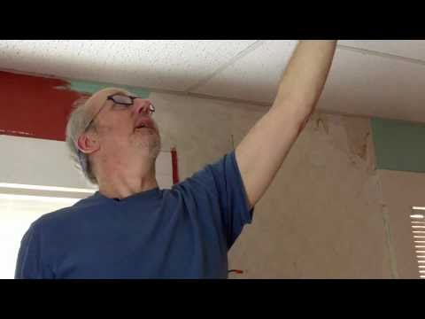 Plaster Ceiling Repair – How to Address Cracks in Plaster in a Plaster Ceiling