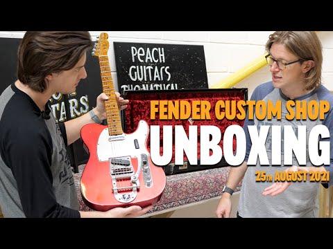 Fender Custom Shop Unboxing… PART 3! - 25th August 2021