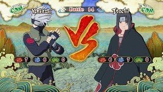 Naruto Shippuden: Ultimate Ninja Storm 3, Kakashi Hatake VS Itachi Uchiha!