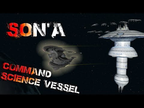 Son'a Command Science Vessel [T6] – with all ship visuals - Star Trek Online