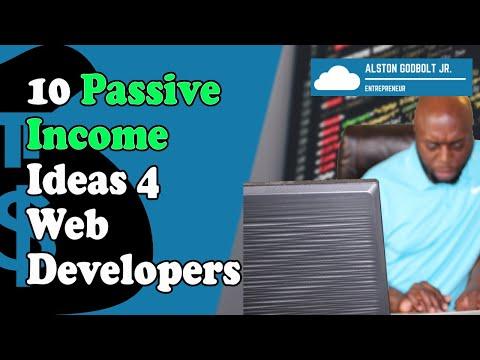 10 Ways To Make Passive Income As A Web Developer
