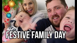 AD A FESTIVE DAY WITH THE BOYS | CHRISTMAS TRADITIONS AND MATCHING PYJAMAS!