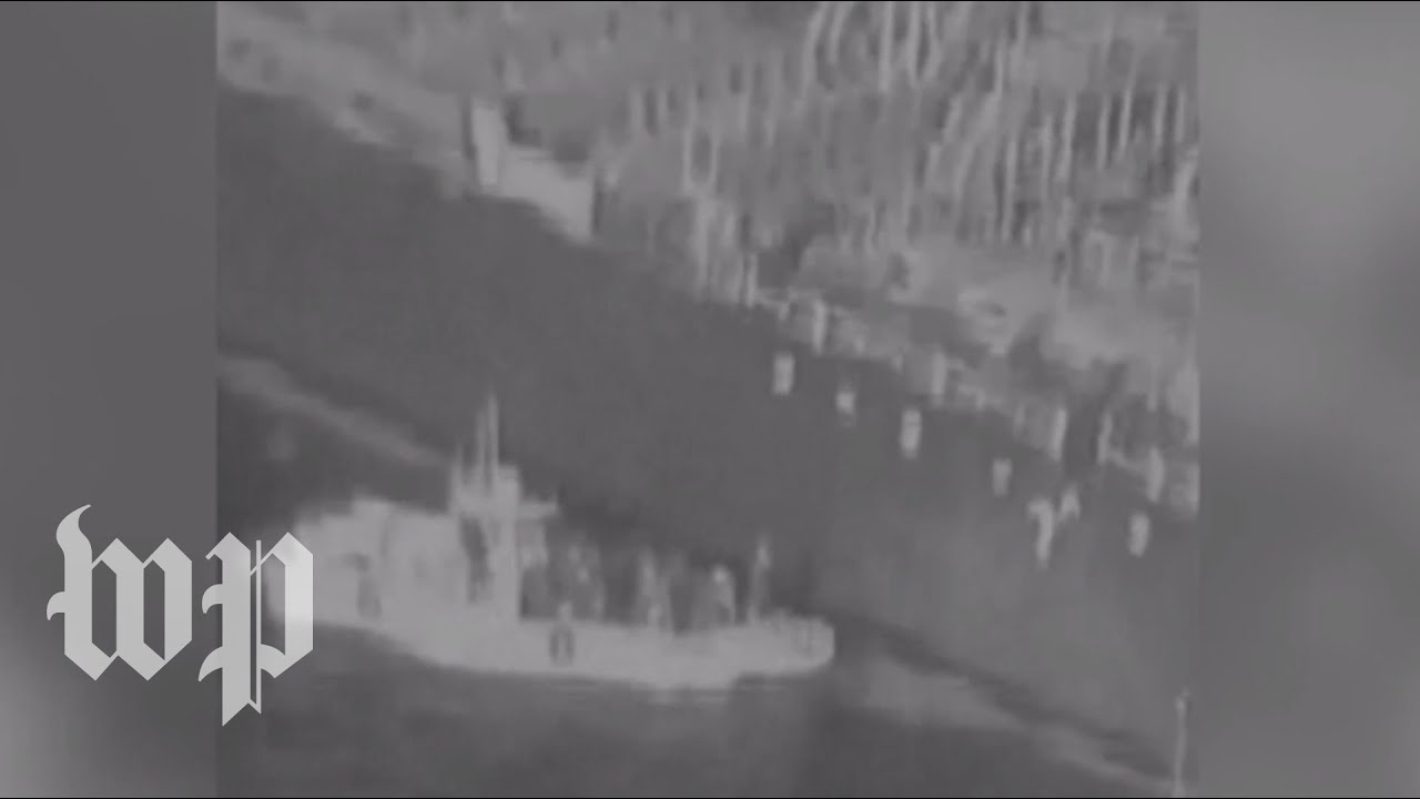 Breaking down the video U.S. military says shows Iranian forces removing mine from tanker
