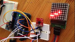 How to connect LED Matrix into Arduino using MAX