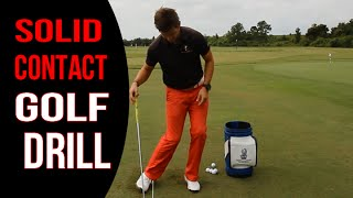 Simple Golf Downswing Drill - Better Ball Striking