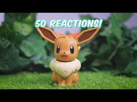 Pokemon - My Partner Eevee Interactive Figure - Video