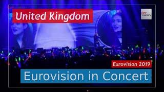 United Kingdom Eurovision 2019 Live: Michael Rice - Bigger Than Us - EiC