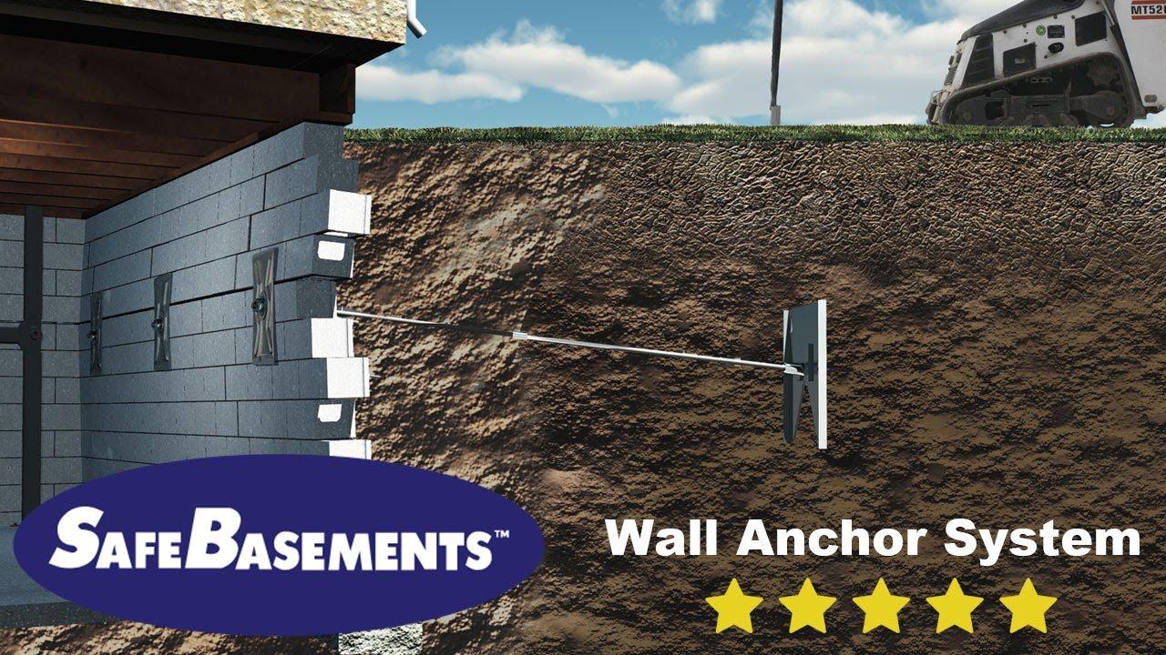 Safebasements wall anchors foundation repair youtube safebasements wall anchors foundation repair solutioingenieria Choice Image