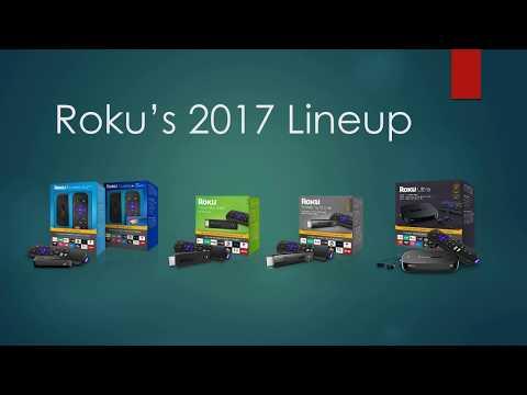 First Look: Roku 2017 Lineup  4K Roku Stick, 2017 Express, 2017 Ultra, 2017 Stick