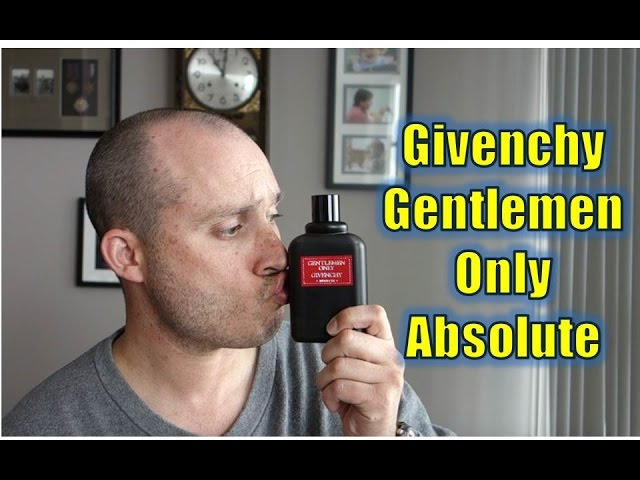 Givenchy Gentlemen Only Absolute fragrance/cologne review
