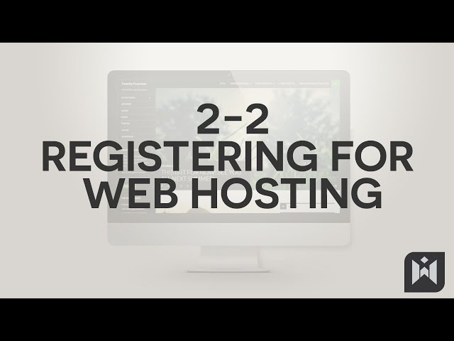 WordPress for Beginners 2015 Tutorial Series | Chapter 2-2: Signing Up for Web Hosting
