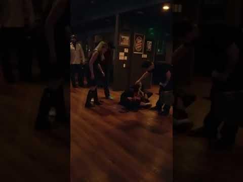 Bar fight San Fernando Valley in Encino