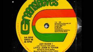 "Little John & Toyan - Jah Guide I 12""  1981"