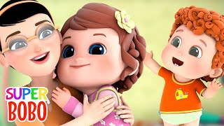 Sister song for kids | brother sister love | English cartoon songs | Nursery rhymes - Blue fish 4K