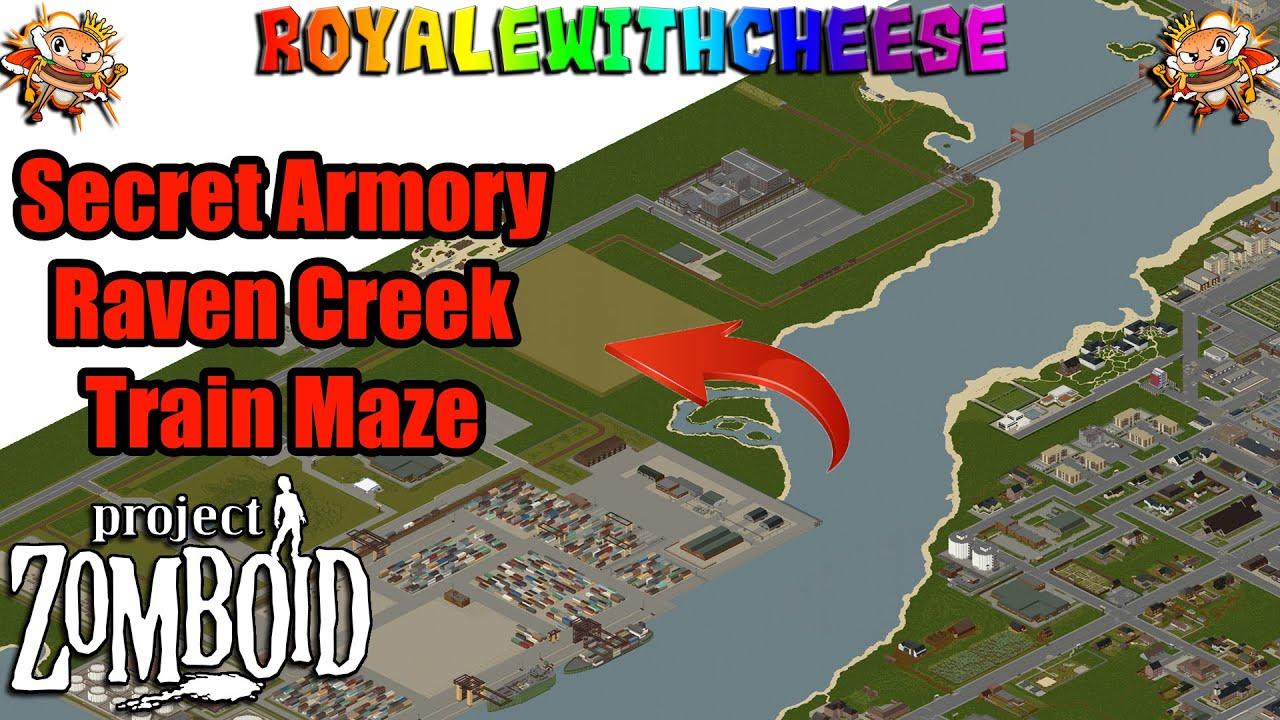 Raven Creek Train Maze Armory Found Project Zomboid   YouTube